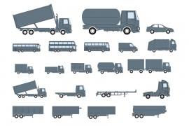 De foto laat verschillende voertuigen zien, waarvoor je een aanvullend rijbewijs nodig hebt.©